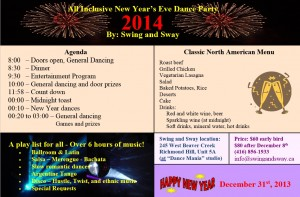 Nye Year 2014 Swing and Sway