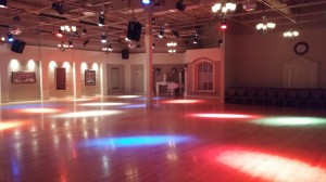 Our huge dance floor 1